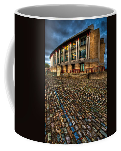 Architecture Coffee Mug featuring the photograph Lloyds Building by Adrian Evans