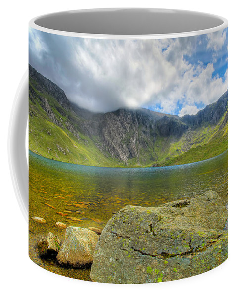 Plants Coffee Mug featuring the photograph Llyn Idwal by Adrian Evans
