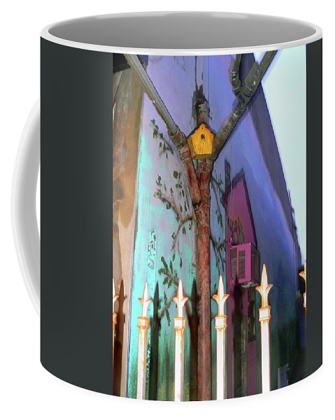 Bird House Coffee Mug featuring the photograph Location Location Location by Pamela Patch