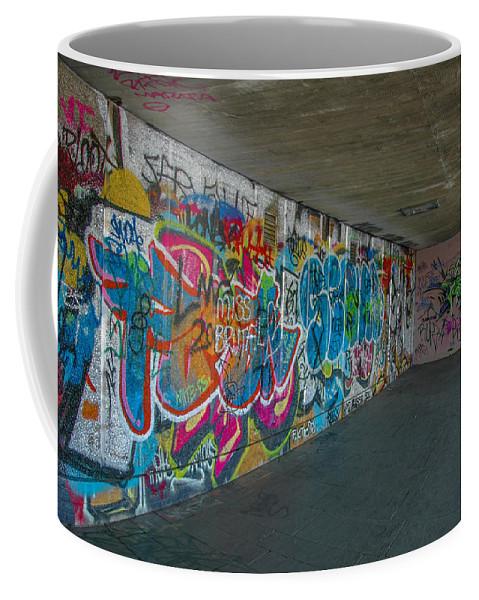 Street Art Coffee Mug featuring the photograph London Skatepark 5 by Jonah Anderson