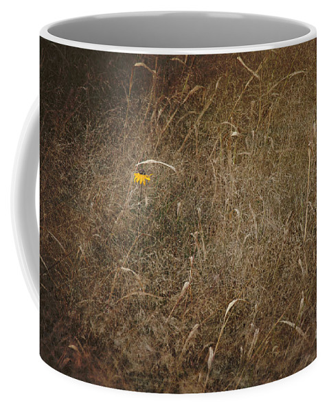 Flower Coffee Mug featuring the photograph Lone Flower by Alana Ranney