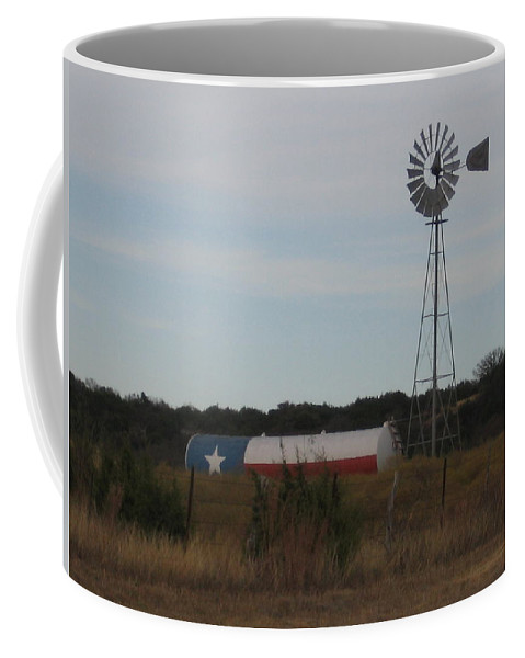 Coffee Mug featuring the photograph Lone Star by Amy Hosp