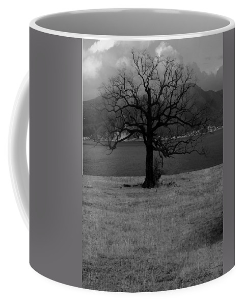 Tn Coffee Mug featuring the photograph Lonely by Ericamaxine Price