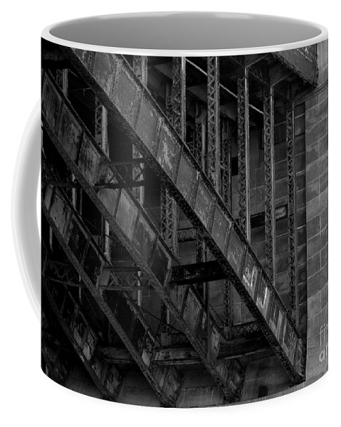Black Coffee Mug featuring the photograph Longfellow Bridge by Kevin Fortier