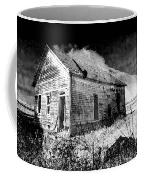 Bison Coffee Mug featuring the photograph Looking Back by Rick Rauzi