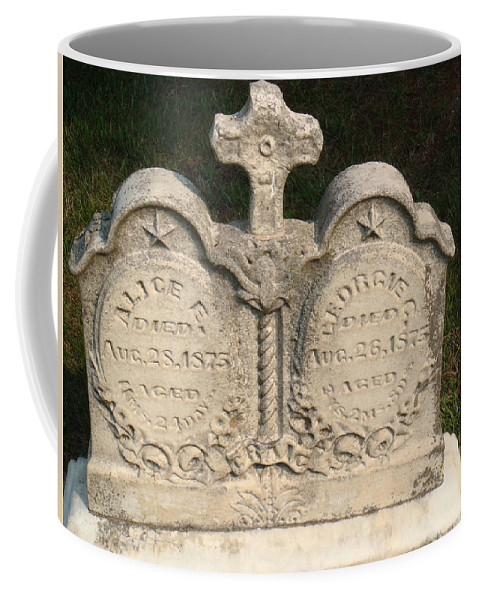 Cemetery Coffee Mug featuring the photograph Loss by Bonfire Photography