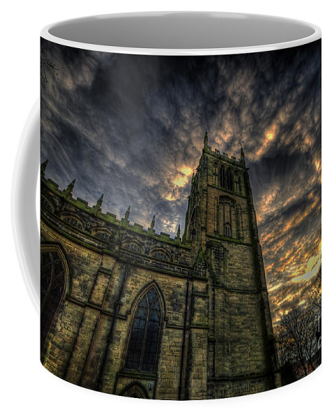 Yhun Suarez Coffee Mug featuring the photograph Loughborough Parish Church by Yhun Suarez