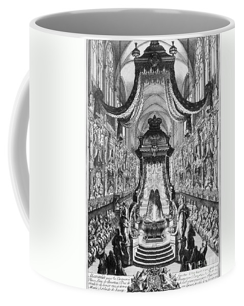 1712 Coffee Mug featuring the photograph Louis, Duke Of Burgundy by Granger