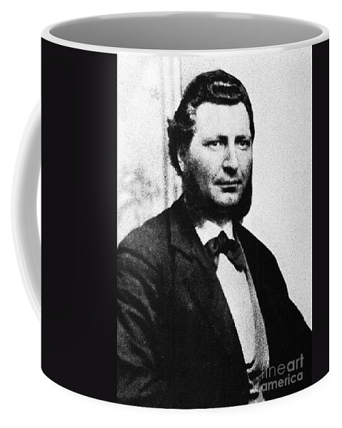 19th Century Coffee Mug featuring the photograph Louis Riel by Granger