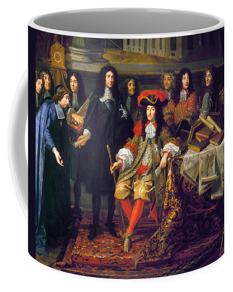 1666 Coffee Mug featuring the photograph Louis Xiv (1638-1715) by Granger
