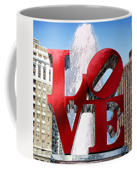 Love Sculpture Coffee Mug featuring the photograph Love by Andrew Fare