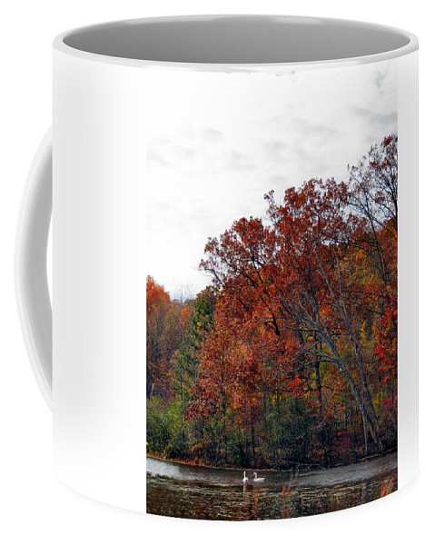Fall Coffee Mug featuring the photograph Love For Life by Art Dingo