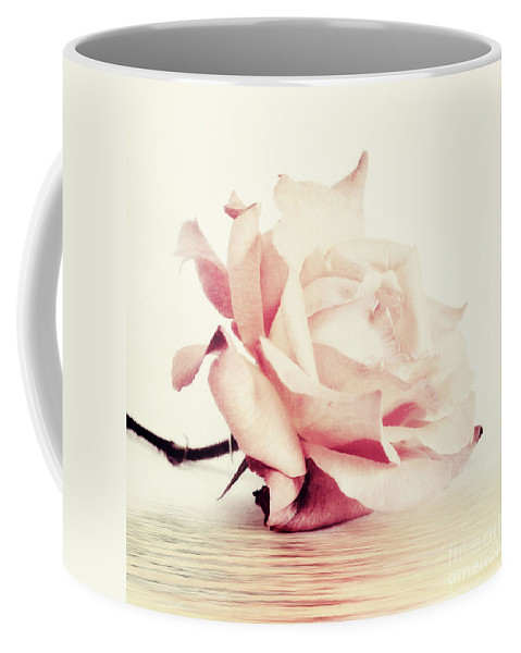 Rose Coffee Mug featuring the photograph Lucid by Priska Wettstein