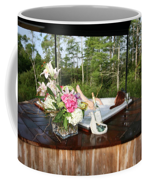 Everglades City Fl Professional Photographer Lucky Cole Coffee Mug featuring the photograph Bubble Bath 9222 by Lucky Cole