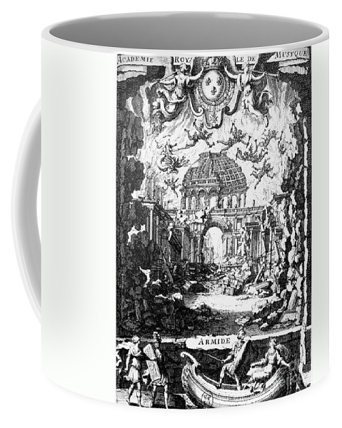 1686 Coffee Mug featuring the photograph Lully: Armide, 1686 by Granger