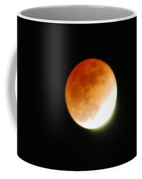 Lunar Coffee Mug featuring the photograph Lunar Eclipse by Michael Merry
