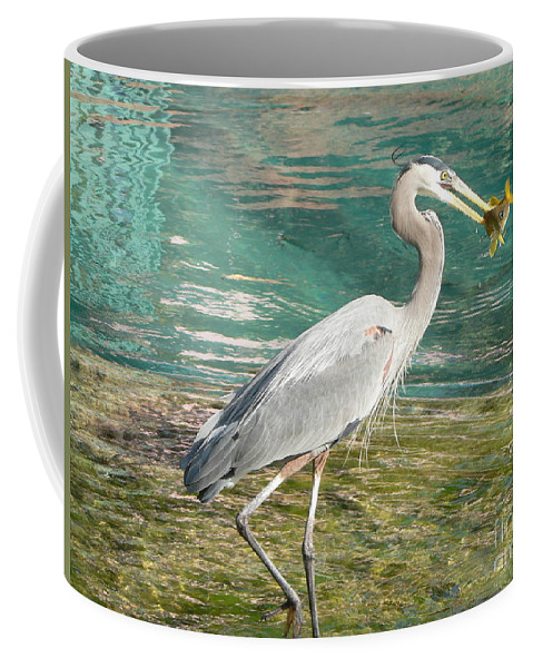Great Coffee Mug featuring the photograph Lunchtime by Laurel Best