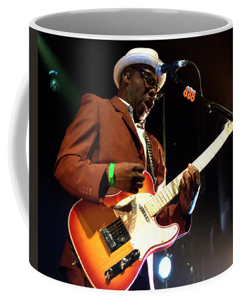 Jeff Ross Coffee Mug featuring the photograph Lynval Golding-the Specials by Jeff Ross