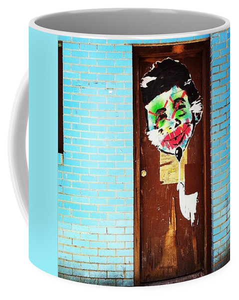 Febphotoaday Coffee Mug featuring the photograph Mad Libs Graffiti by Katie Cupcakes