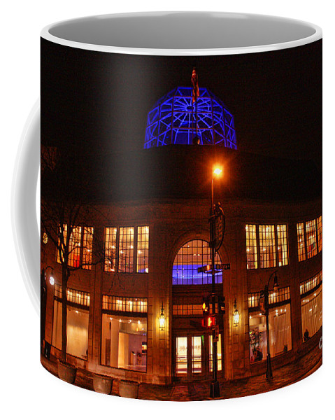 Madison. Wisconsin Coffee Mug featuring the photograph Madison Wi Overture Center by Tommy Anderson