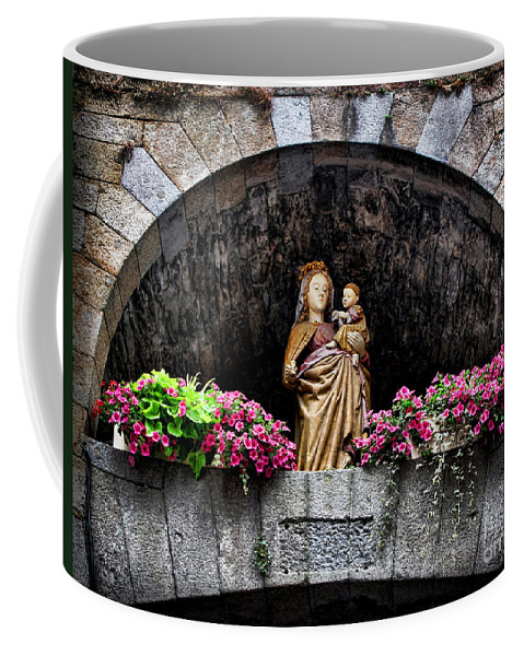 Madonna Coffee Mug featuring the photograph Madonna And Child Arch by Joan Minchak