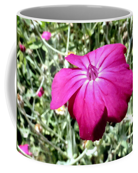Flower Coffee Mug featuring the photograph Magenta by Art Dingo