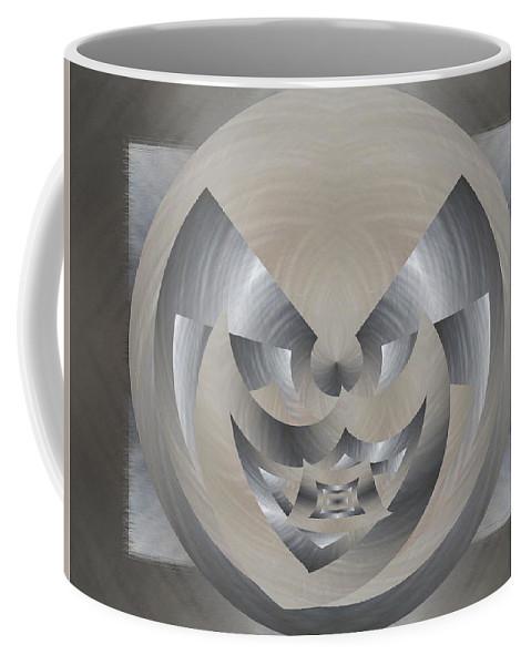 Abstract Coffee Mug featuring the digital art Magic Carpet Ride by Tim Allen