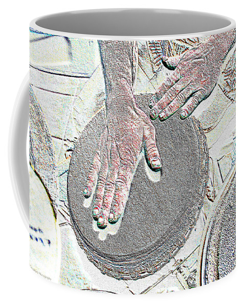 Hands Coffee Mug featuring the photograph Magic Hands by Michael Merry