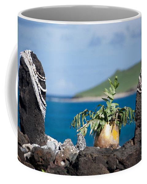 Shell Coffee Mug featuring the photograph Magic Place by Ralf Kaiser