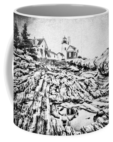 Atlantic Coffee Mug featuring the photograph Maine by Darren Fisher