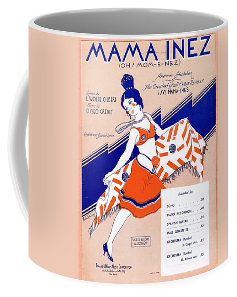 Classic Coffee Mug featuring the photograph Mama Inez by Mel Thompson