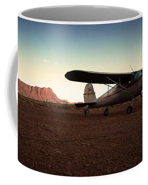 Usa Coffee Mug featuring the photograph Marble Canyon by Aurica Voss