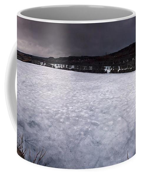 Mine Coffee Mug featuring the photograph Marmora Mine by Cale Best