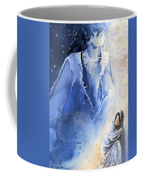 Fantasy Coffee Mug featuring the painting Mary Magdalene by Miki De Goodaboom