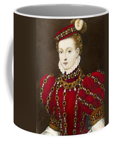 Mary Coffee Mug featuring the photograph Mary Queen Of Scots by Mary Evans Picture Library and Photo Researchers