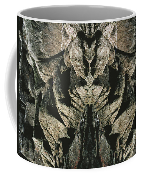Rocks Coffee Mug featuring the photograph Masked Rock God of Ogunquit by Nancy Griswold