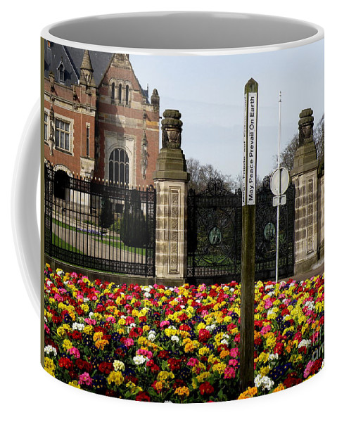 Peace Coffee Mug featuring the photograph May Peace Prevail On Earth by Lainie Wrightson