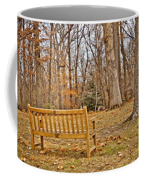 Meditate Coffee Mug featuring the photograph Meditation At Valley Forge by Trish Tritz