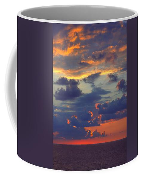 Ocean Coffee Mug featuring the photograph Mediterranean Sky by Mark Greenberg