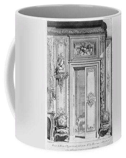18th Century Coffee Mug featuring the photograph Meissonier: Doorway by Granger