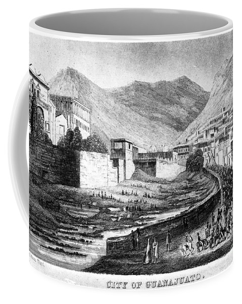 1844 Coffee Mug featuring the photograph Mexico: Guanajuato by Granger