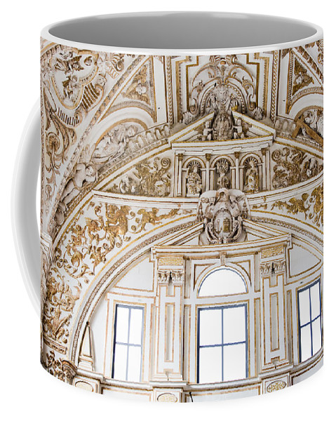 Mezquita Coffee Mug featuring the photograph Mezquita Cathedral Renaissance Ornamentation by Artur Bogacki