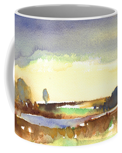 Midday Coffee Mug featuring the painting Midday 27 by Miki De Goodaboom