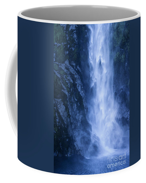 Bronstein Coffee Mug featuring the photograph Milford Sound New Zealand by Sandra Bronstein
