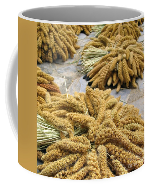 Cereal Coffee Mug featuring the photograph Millet Grain by Yali Shi