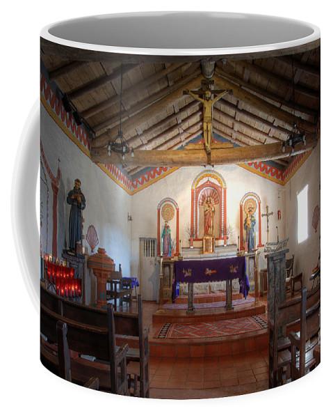 Mission San Antonio De Padua Coffee Mug featuring the photograph Mission San Antonio De Padua 3 by Bob Christopher