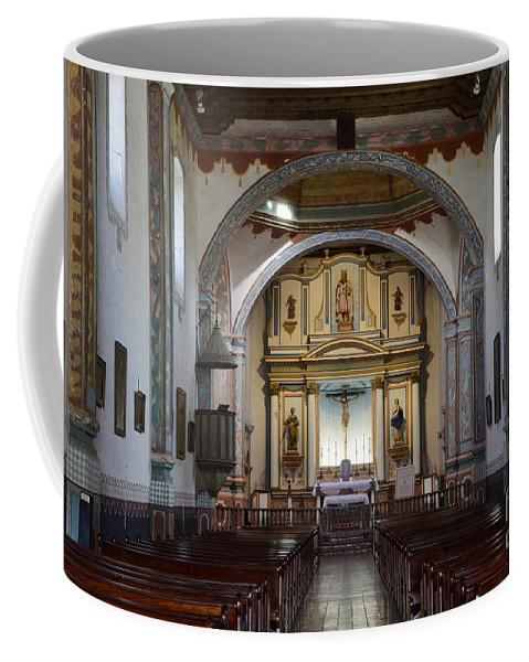 Mission San Luis Rey Coffee Mug featuring the photograph Mission San Luis Rey by Bob Christopher