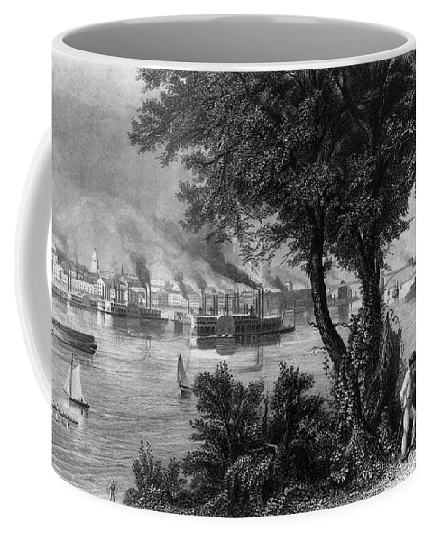 1872 Coffee Mug featuring the photograph Missouri: St. Louis by Granger