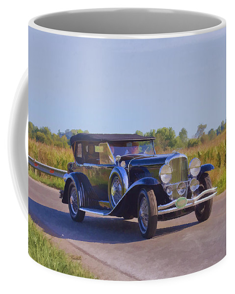 Ohio Coffee Mug featuring the photograph Mob Boss by Jack R Perry