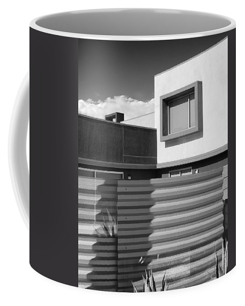 Morrison Coffee Mug featuring the photograph Modern Morrison Bw Palm Springs by William Dey